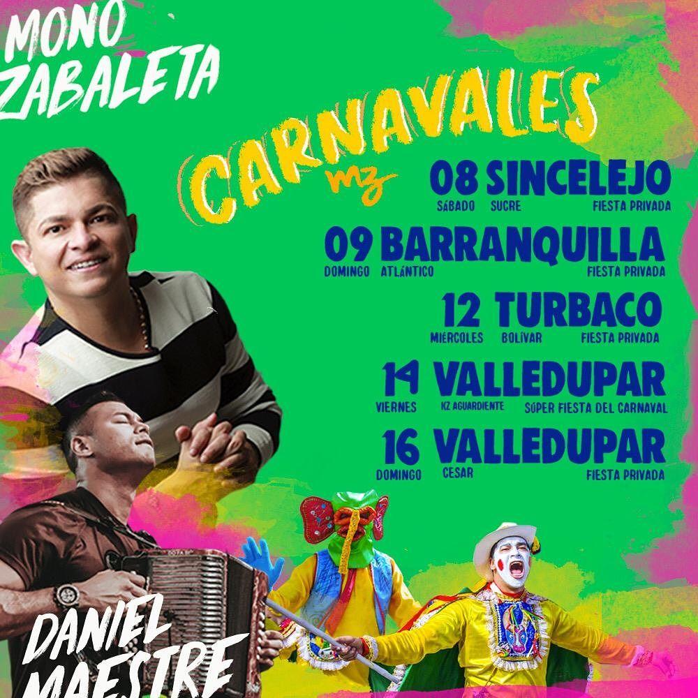 Mono Zabaleta de Carnavales