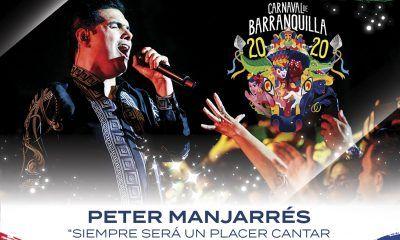 Peter Manjarrés en Carnavales de Barranquilla 2020