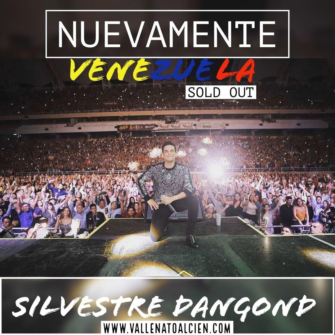 Éxito de Silvestre Dangond en Venezuela