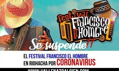 Se suspende el Festival Francisco el hombre por Coronavirus