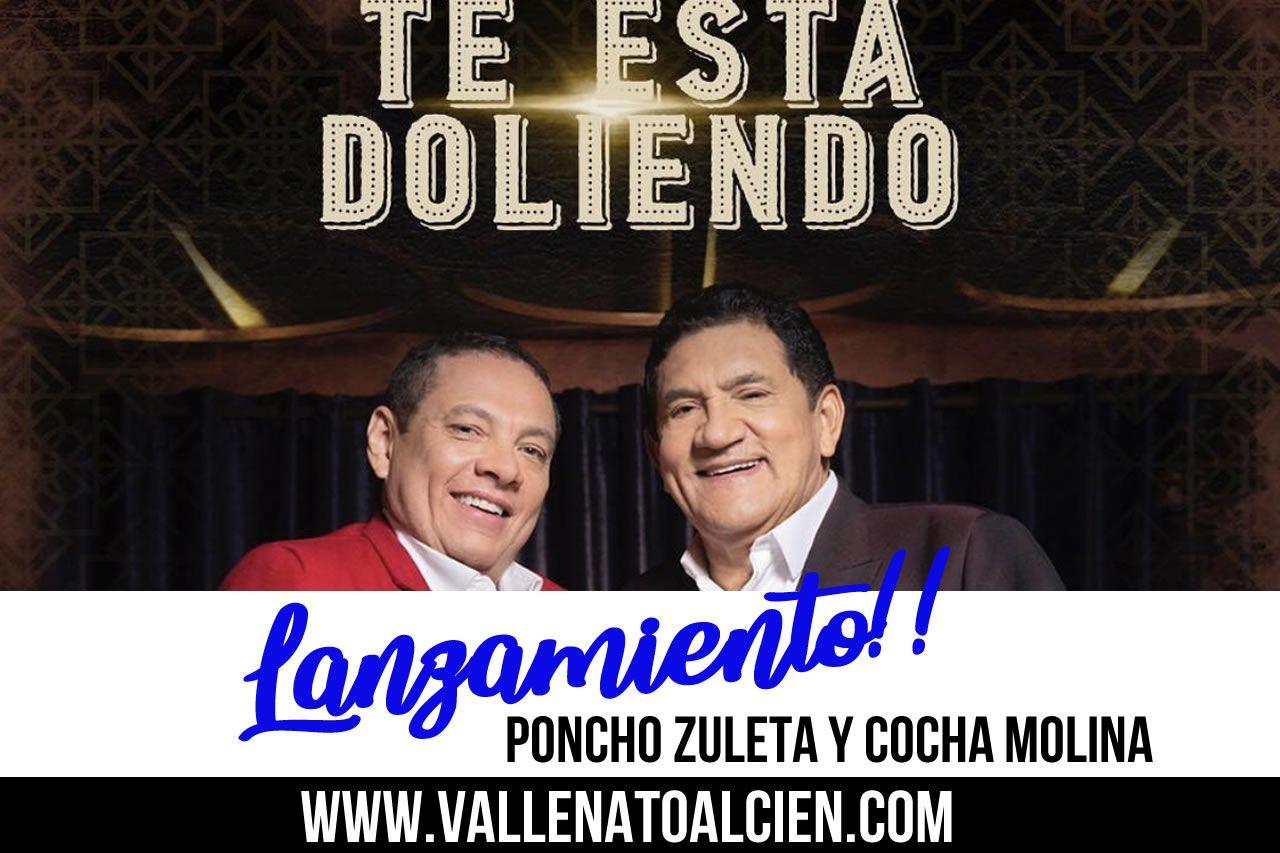 Tes está doliendo Poncho Zuleta y Cocha Molina