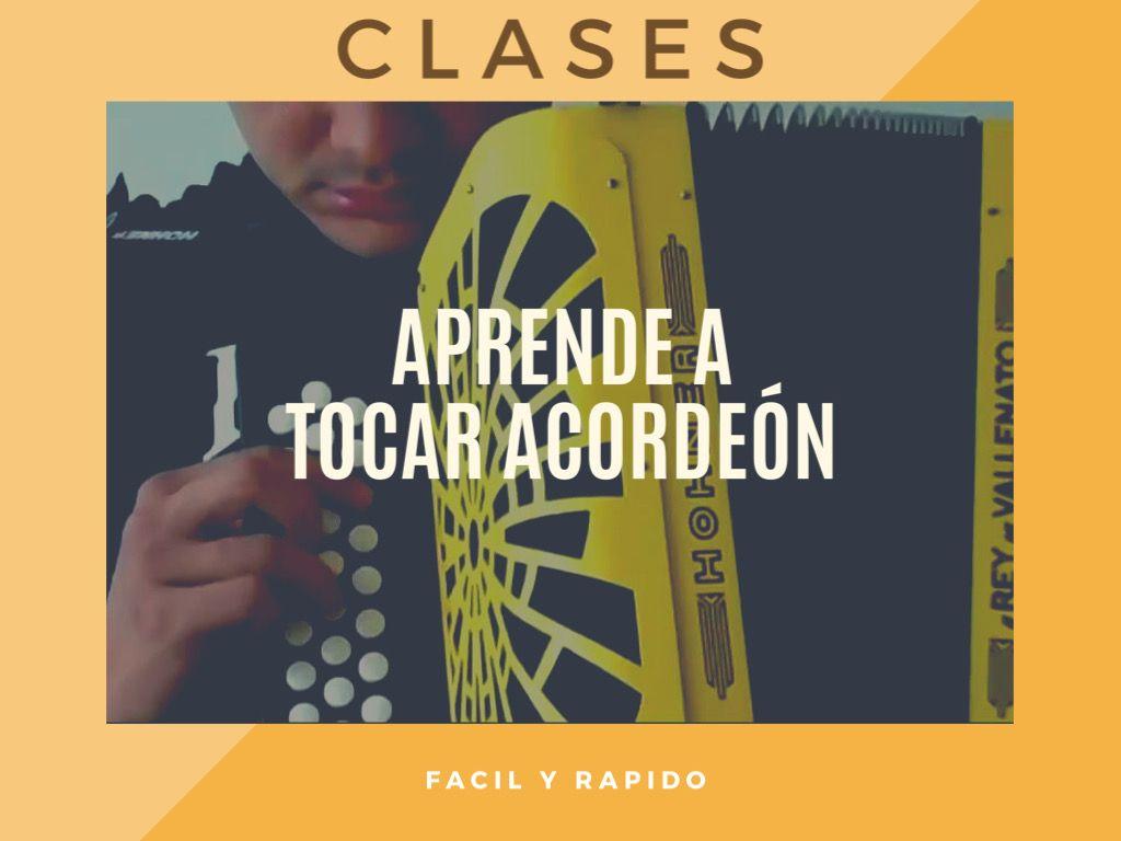 Clases para aprender a tocar acordeón