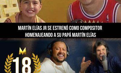 18 de Junio Martin Elias JR homenaje a Martin Elias