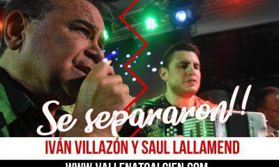 Se separaron Iván Villazón y Saul Lallemand