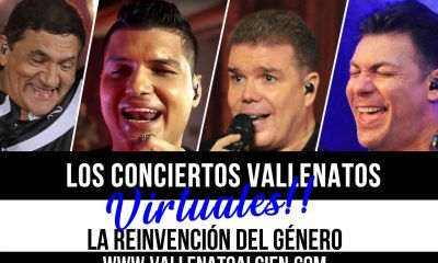 los conciertos vallenatos virtuales