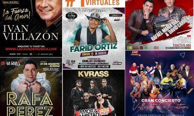 Conciertos vallenatos virtuales en Colombia