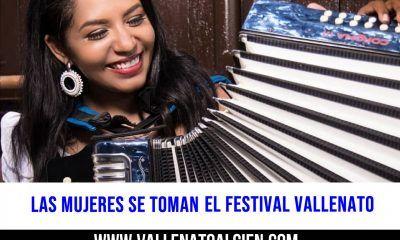 Las mujeres se toman el festival vallenato, wendy corzo