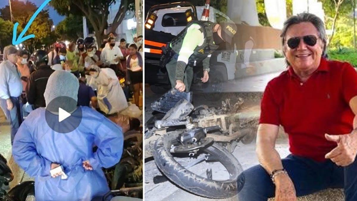 Accidente del palomo dangond, papa de Silvestre Dangond