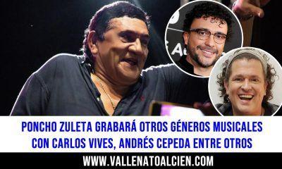 Poncho Zuleta grabará otros géneros musicales