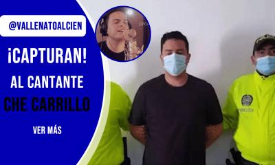 Che Carrillo capturado por la policia por supuesto fraude a entidad bancaria.fw