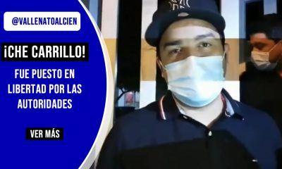 Che Carrillo fue puesto en libertad por las autoridades