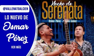 Noche de serenata Osmar Pérez el nuevo álbum