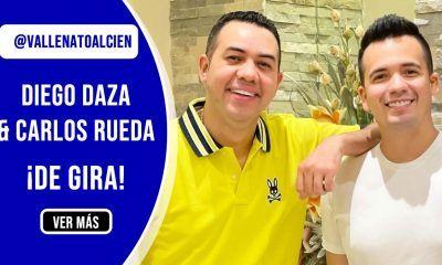 Diego Daza y Carlos Rueda de gira por Colombia