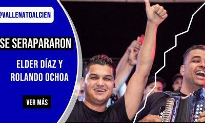 Se separaron Elder Díaz y Rolando Ochoa