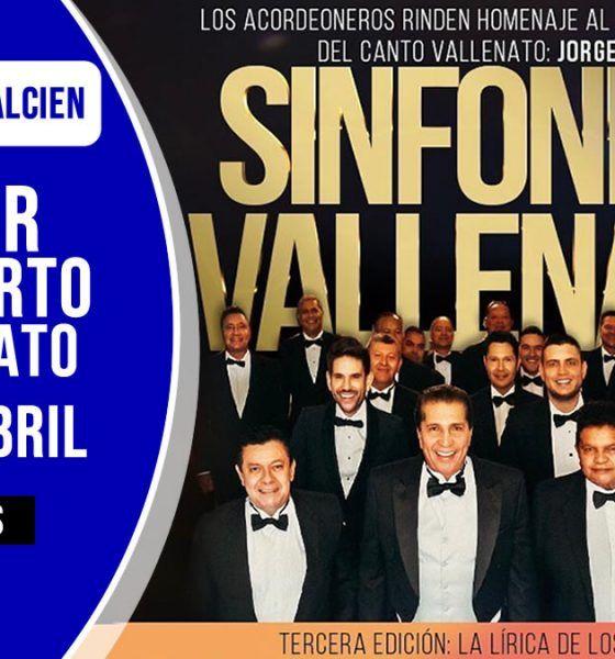 Concierto sinfónica vallenata homenaje a jorge oñate