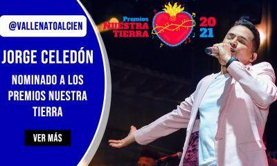Jorge Celedón nominado a los premios nuestra tierra 2021