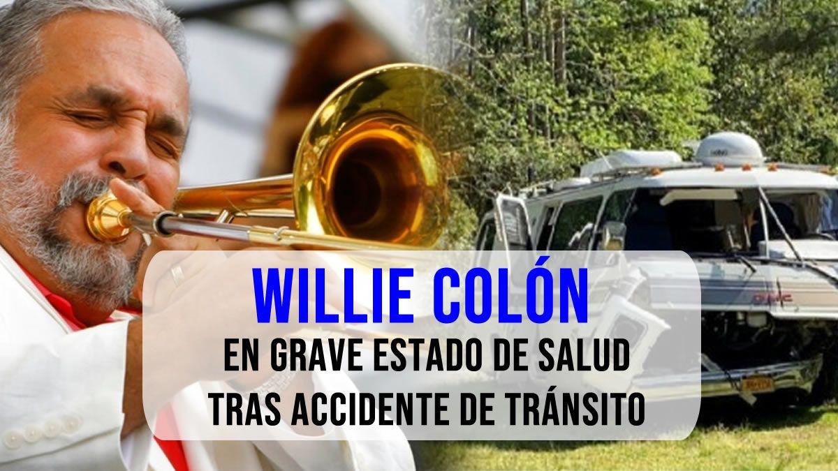 Willie Colón en grave estado de salud