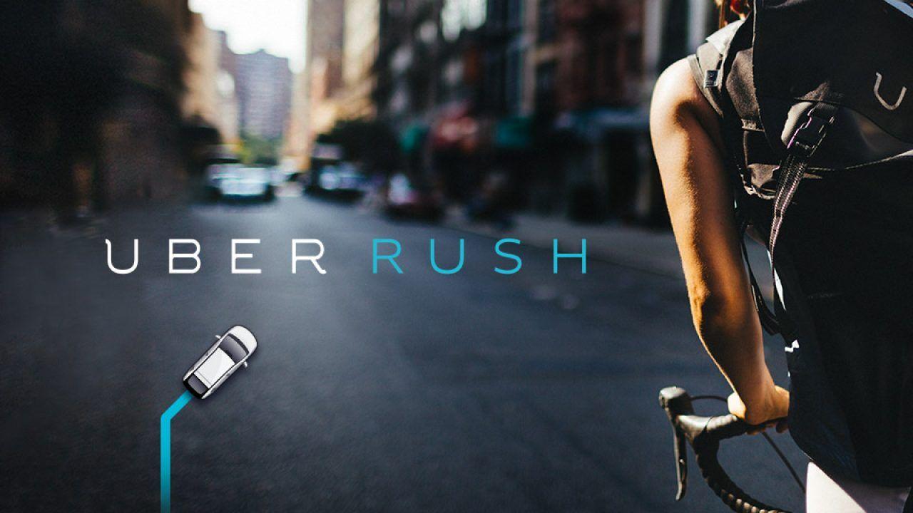 que es uber rush