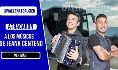 Atracaron a los músicos de Jean Carlos Centeno