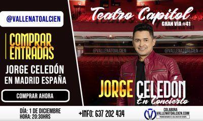 Comprar entradas Jorge Celedón en Madrid España
