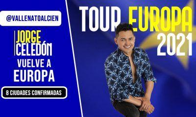Jorge Celedón en Europa 2021
