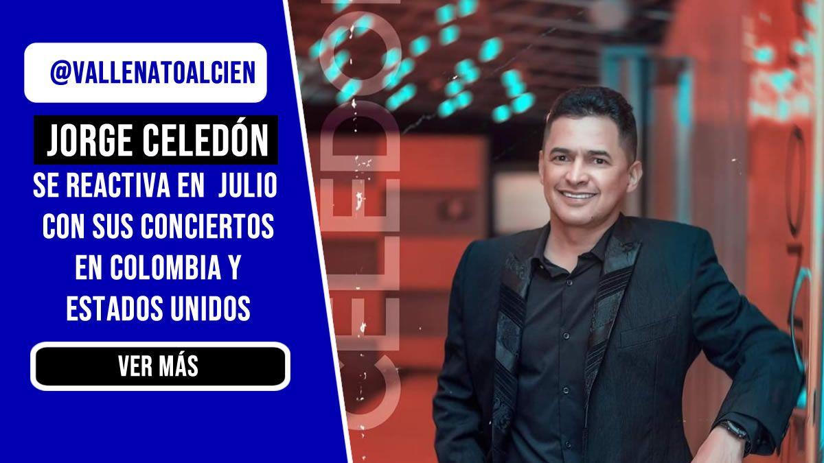 Jorge Celedón de concierto por Estados Unidos y Colombia