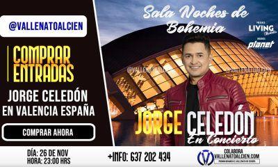 concierto Jorge Celedón en Valencia