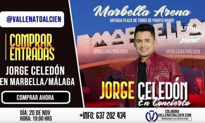 Comprar entradas concierto Jorge Celedón Marbella Málaga