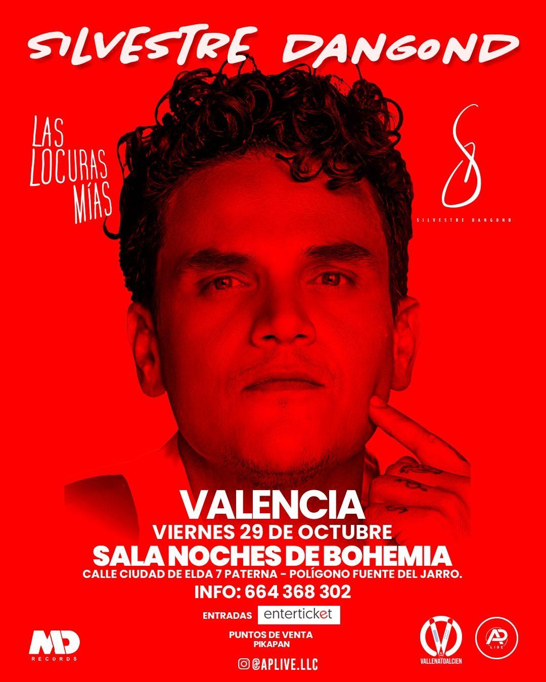 Concierto de Silvestre Dangond en Valencia España