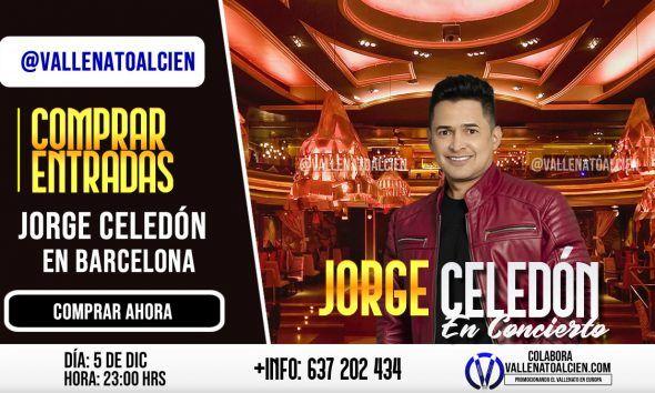 Entradas para el concierto de Jorge Celedón en Barcelona