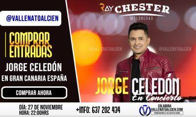 Concierto de Jorge Celedón en Gran Canaria 27 de Noviembre